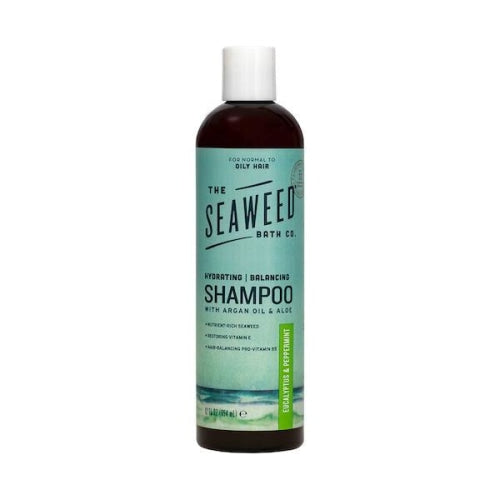 The Seaweed Bath Co EUCALYPTUS & PEPPERMINT Balancing Argan Shampoo
