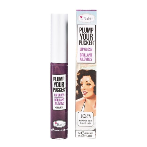 theBalm Cosmetic Plump Your Pucker® Lip Gloss (Enhance) - Beauty