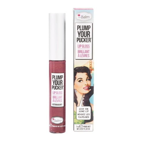 theBalm Cosmetic Plump Your Pucker® Lip Gloss (Extravagant) - Beauty