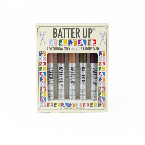 theBalm Cosmetics Batter Up Full-Size 5 Pc Box Set - Count On Us