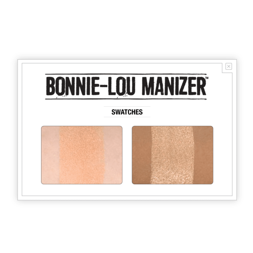 theBalm Cosmetics Bonnie Lou Manizer Highlighter & Shimmer - Count On Us