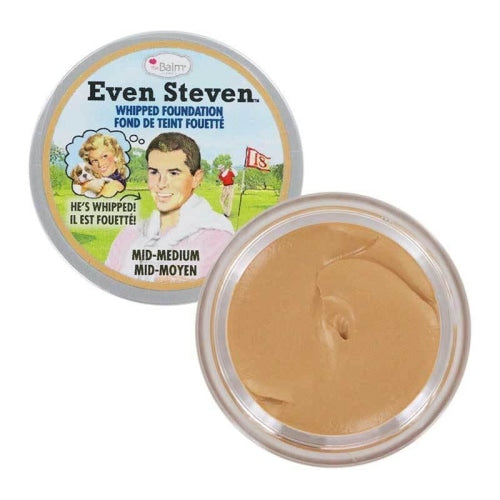 theBalm Cosmetics Even Steven Whipped Foundation (Mid-Medium) - Beauty