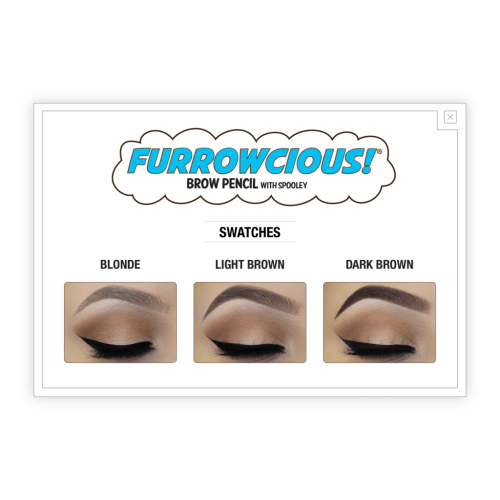 theBalm Cosmetics Furrowcious! Brow Pencil with Spooley (Blonde) - Count On Us