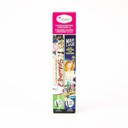 theBalm Cosmetics Mad Lash® Mascara & Schwing® Black Liquid Eyeliner Set - Count On Us