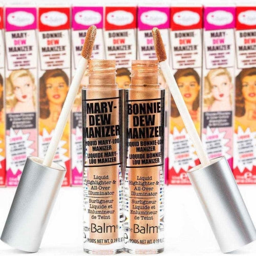 theBalm Cosmetics Mary-Dew Manizer Liquid Highlighter - Count On Us