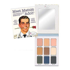 theBalm Cosmetics Meet Matt(e) Ador Matte Eyeshadow Palette - The Balm Cosmetics