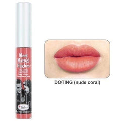 theBalm Cosmetics Meet Matt(e) Hughes Liquid Lipstick (Doting) - The Balm Cosmetics