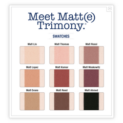 theBalm Cosmetics Meet Matt(e) Trimony Palette - The Balm Cosmetics