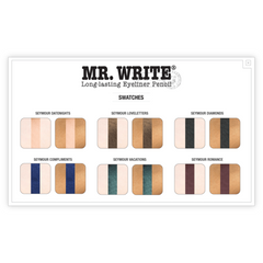 theBalm Cosmetics Mr. Write® Long Lasting Eyeliner Pencil (Seymour Vacations) - Beauty
