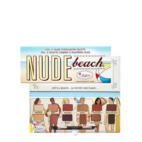 theBalm Cosmetics Nude Beach Eyeshadow Palette - The Balm Cosmetics