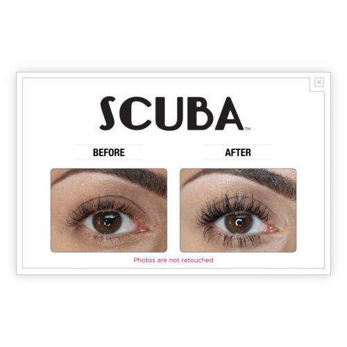 theBalm Cosmetics SCUBA Water Resistant Black Mascara (Black) - Count On Us