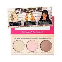 theBalm Cosmetics The Manizer Sisters AKA the Luminizers - Beauty
