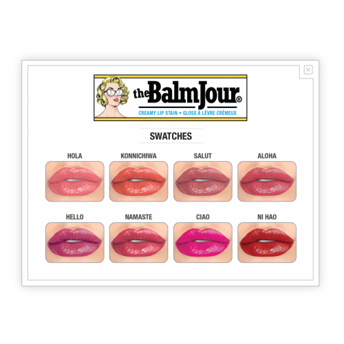 theBalm Cosmetics theBalmJour® Creamy Lip Stain (Hola!) - Count On Us