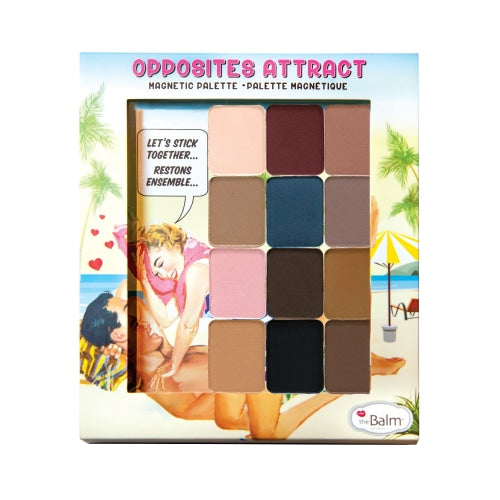 theBalm Opposites Attract Magnetic Palette (Eyeshadows Included) - makeup