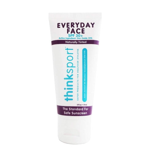 thinksport Everyday Face Sunscreen SPF 30 (2 oz) - Count On Us