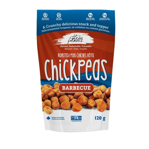 Three Farmers Barbecue Roasted Chickpeas