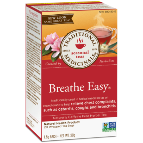 Traditional Medicinals Breathe Easy Tea - Count On Us