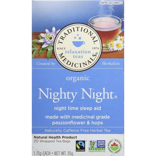 Traditional Medicinals Organic Nighty Night - Count On Us