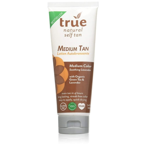 True Natural Face and Body Self Tanner Medium