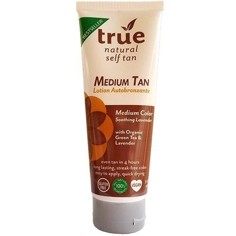 True Natural Tropical Tan, Organic Self Tanner, Dark