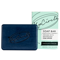 UpCircle Beauty Chocolate Charcoal Chai Soap Bar - Count On Us