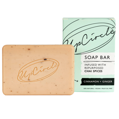 UpCircle Beauty Cinnamon + Ginger Chai Soap Bar