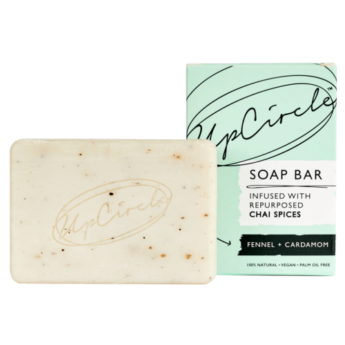 UpCircle Beauty Fennel + Cardamom Chai Soap Bar