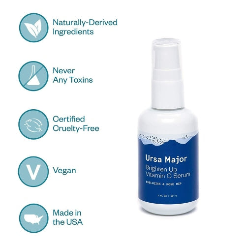 Ursa Major Brighten Up Vitamin C Serum - Count On Us