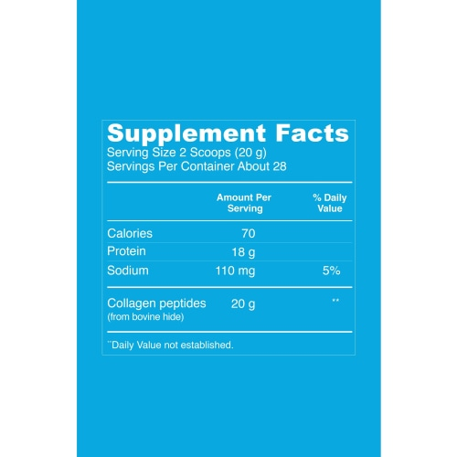 Vital Proteins Collagen Peptides (Unflavored) - 20oz - Count On Us