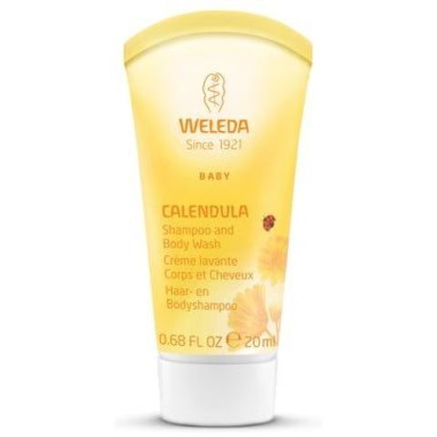 Weleda Baby Calendula Shampoo and Body Wash Travel Size