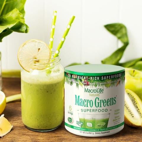 MacroLife Naturals Macro Greens Superfood - Count On Us Canada