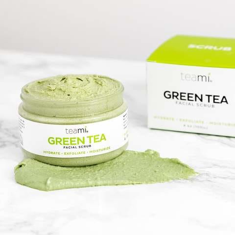 Teami Blends Green Tea Facial Scrub - Count On Us Canada
