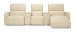 Bari 5 Piece Home Entertainment Seating Power Motion Sectional