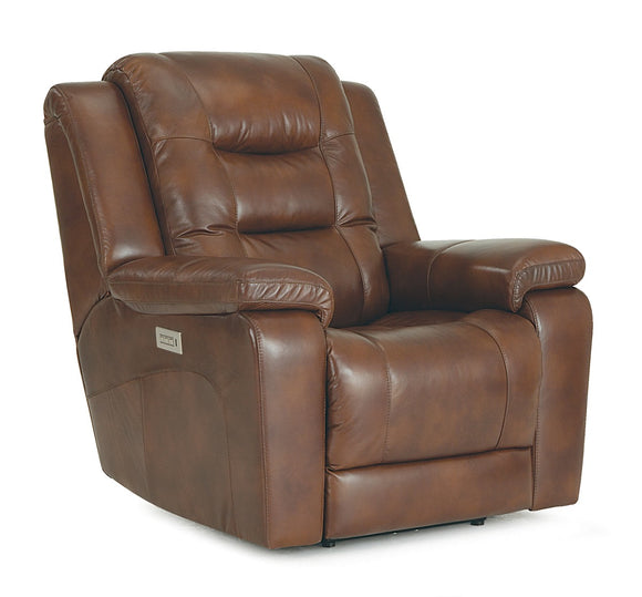 Leighton Power Reclining Chair W/Power Headrest & Lumbar