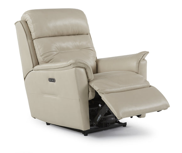 Linden Power Rocker Recliner w/Power Headrest