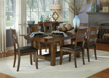 Mariposa Expandables Rustic Whiskey 5 Piece Dining