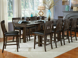 Mariposa Warm Grey 5 Piece Pub Dining