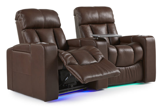 Paragon 2 Piece Home Theater Seating Power Reclining w/Power Headrest