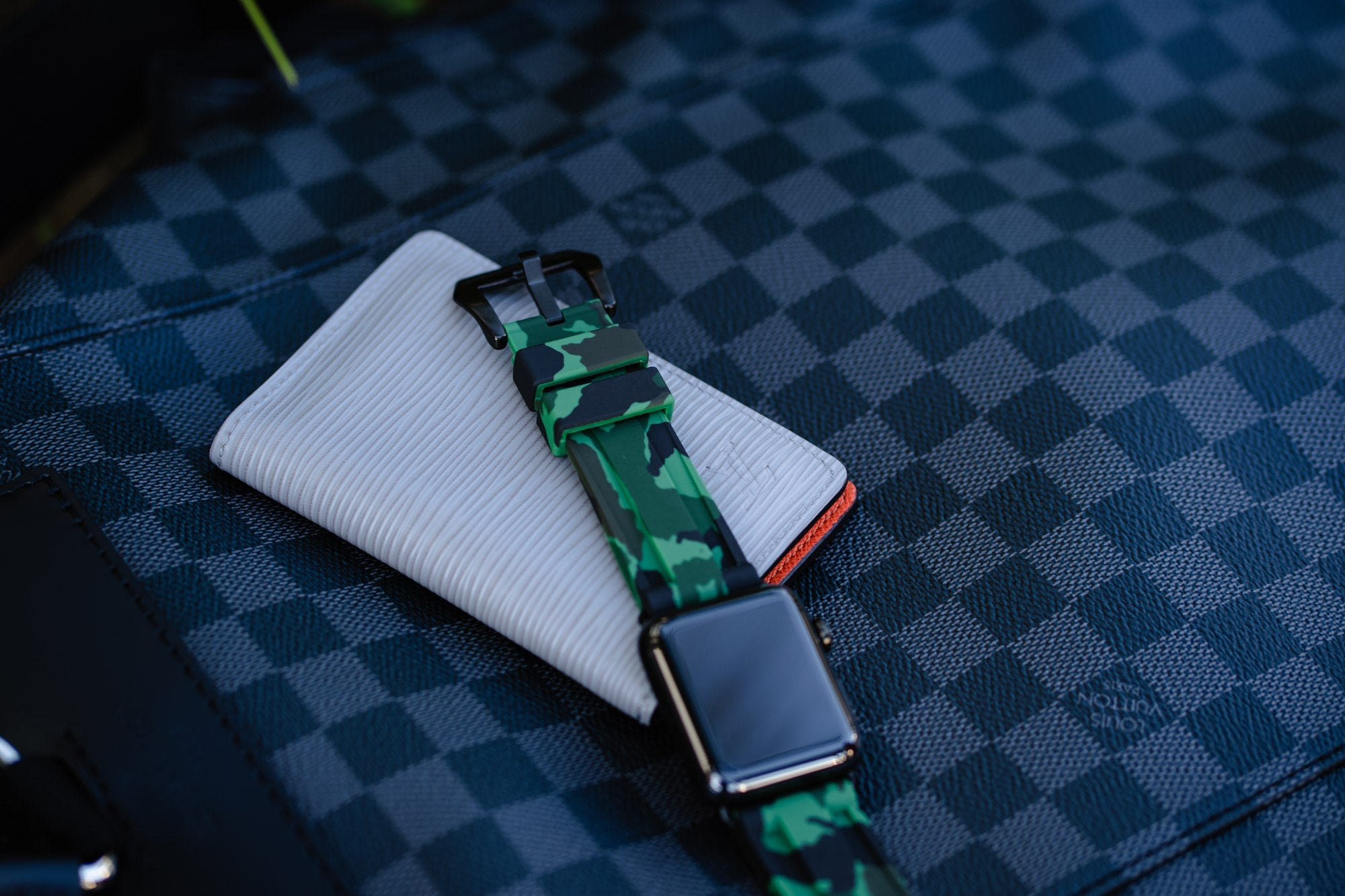 Green Camo Apple Watch Strap