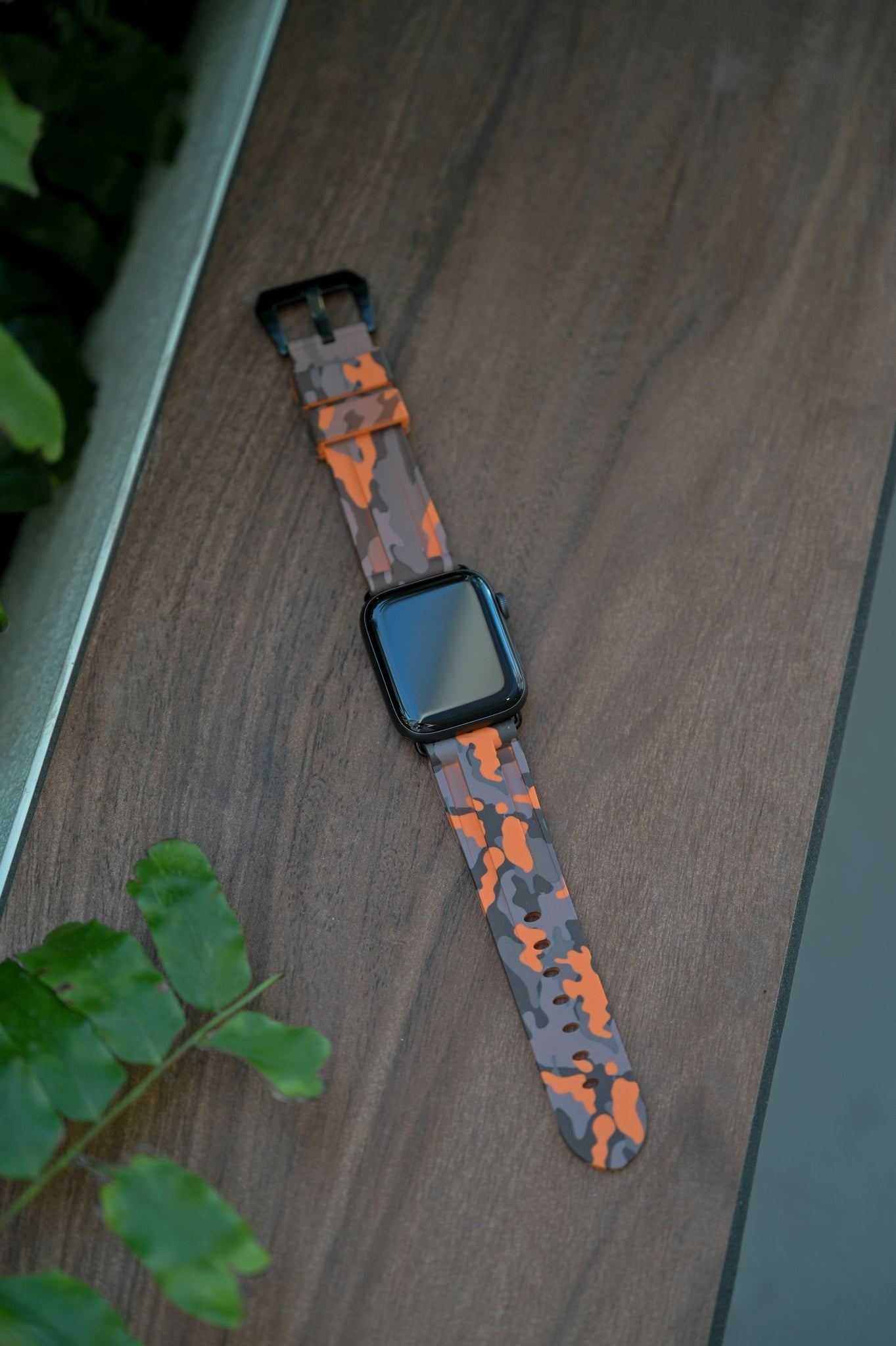 Desert Orange Camo Apple Watch Strap