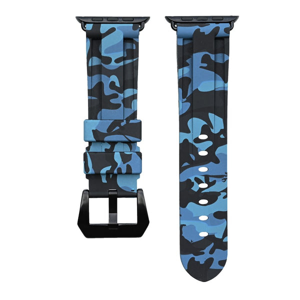 Ocean Blue Camo Apple Watch Strap *Limited Time Only*