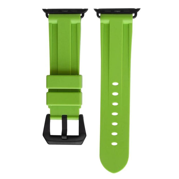 Electric Green Rubber Apple Watch Strap - *SOLD OUT*