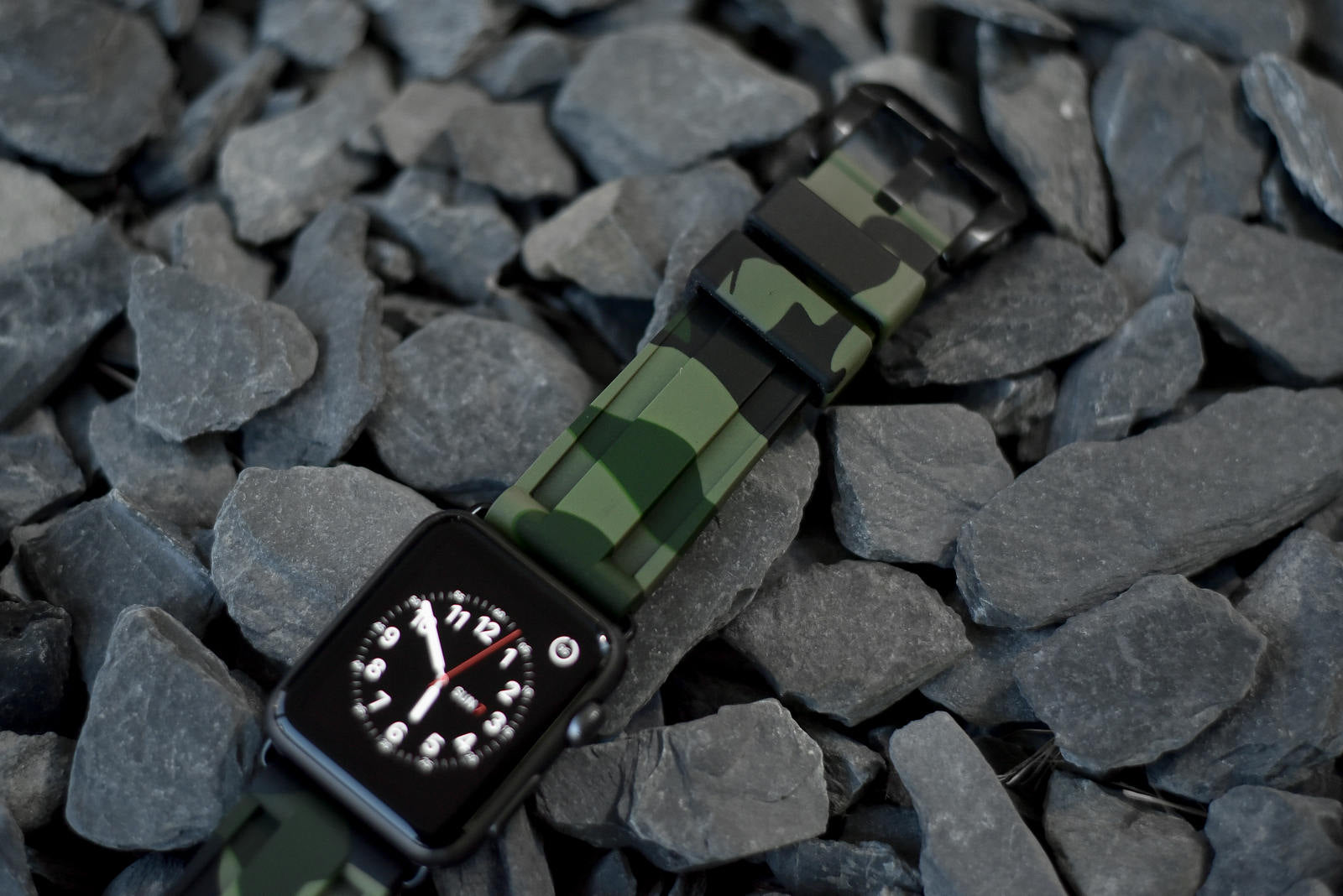 Army Green Camo Apple Watch Strap