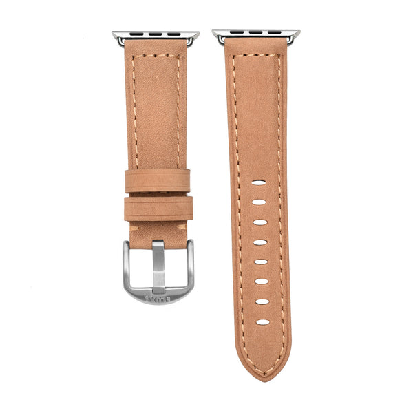 Tan Leather Apple Watch Strap