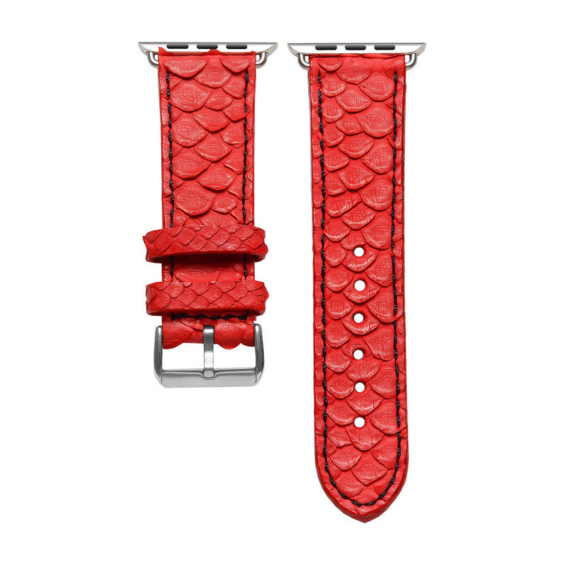 Red Python Apple Watch Strap
