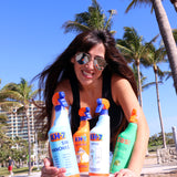 KH7 Stain Remover , ZAS Multipurpose and KH7 Limescale welcomed to Miami Beach by KH7 Degreaser and Grace Barrejon