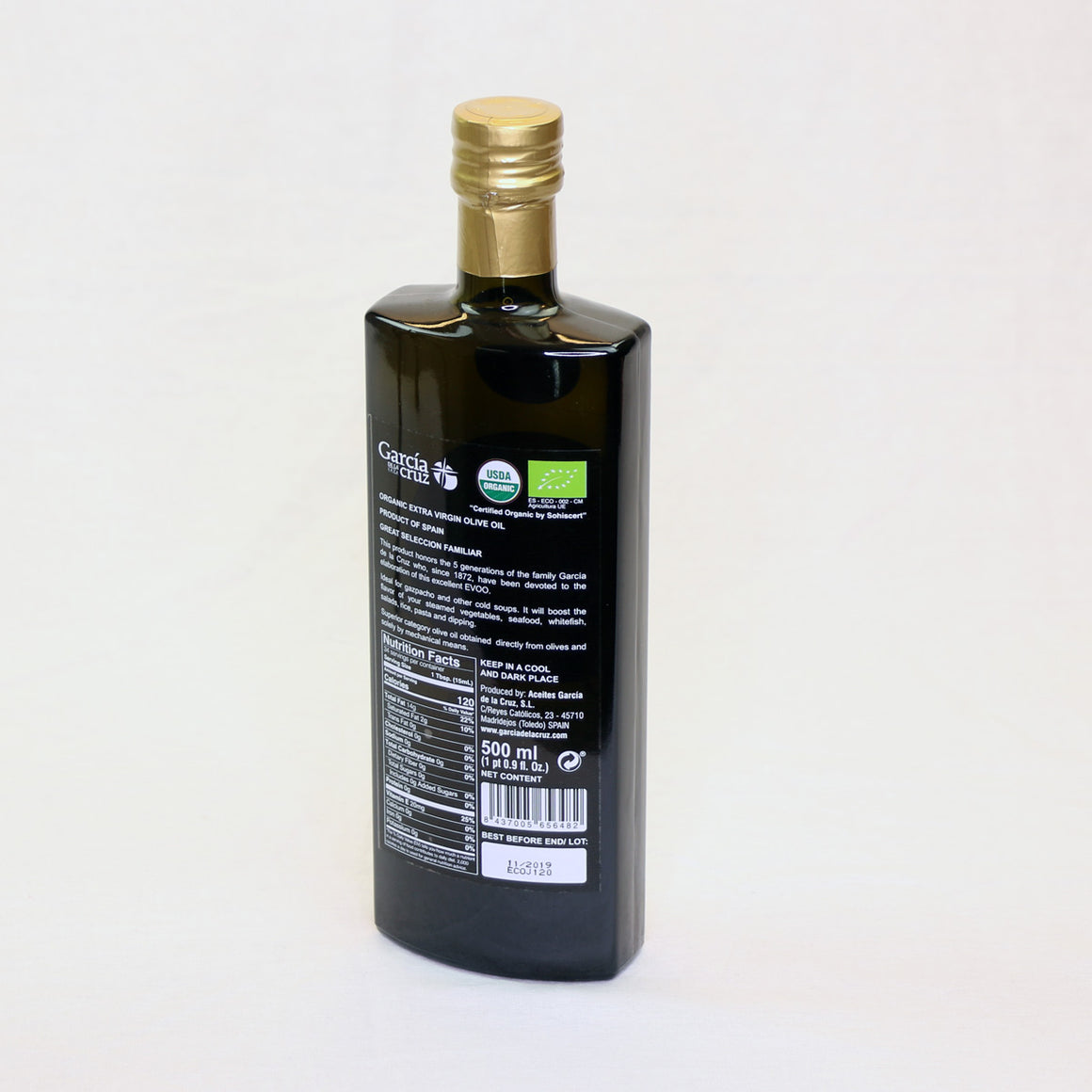 Coupage of extra virgin olive oil 5 Generations Garcia de la Cruz  ,500 ML