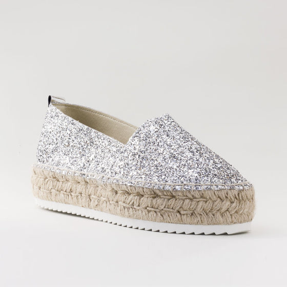 Queen Glitter Plata - Sp4in.com Spanish Food and Products Marketplace  Women Shoes