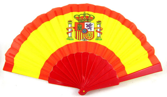 Abanico Bandera España - Sp4in.com Spanish Products Omnichannel Marketplace  LTDE