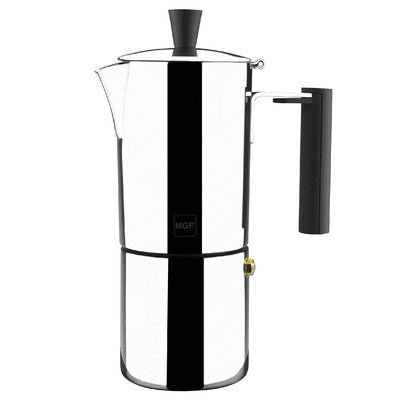 """Capri 6 Cups ""  Stainless steel Coffee Maker - Sp4in.com Spanish Products Omnichannel Marketplace  Coffee Makers"